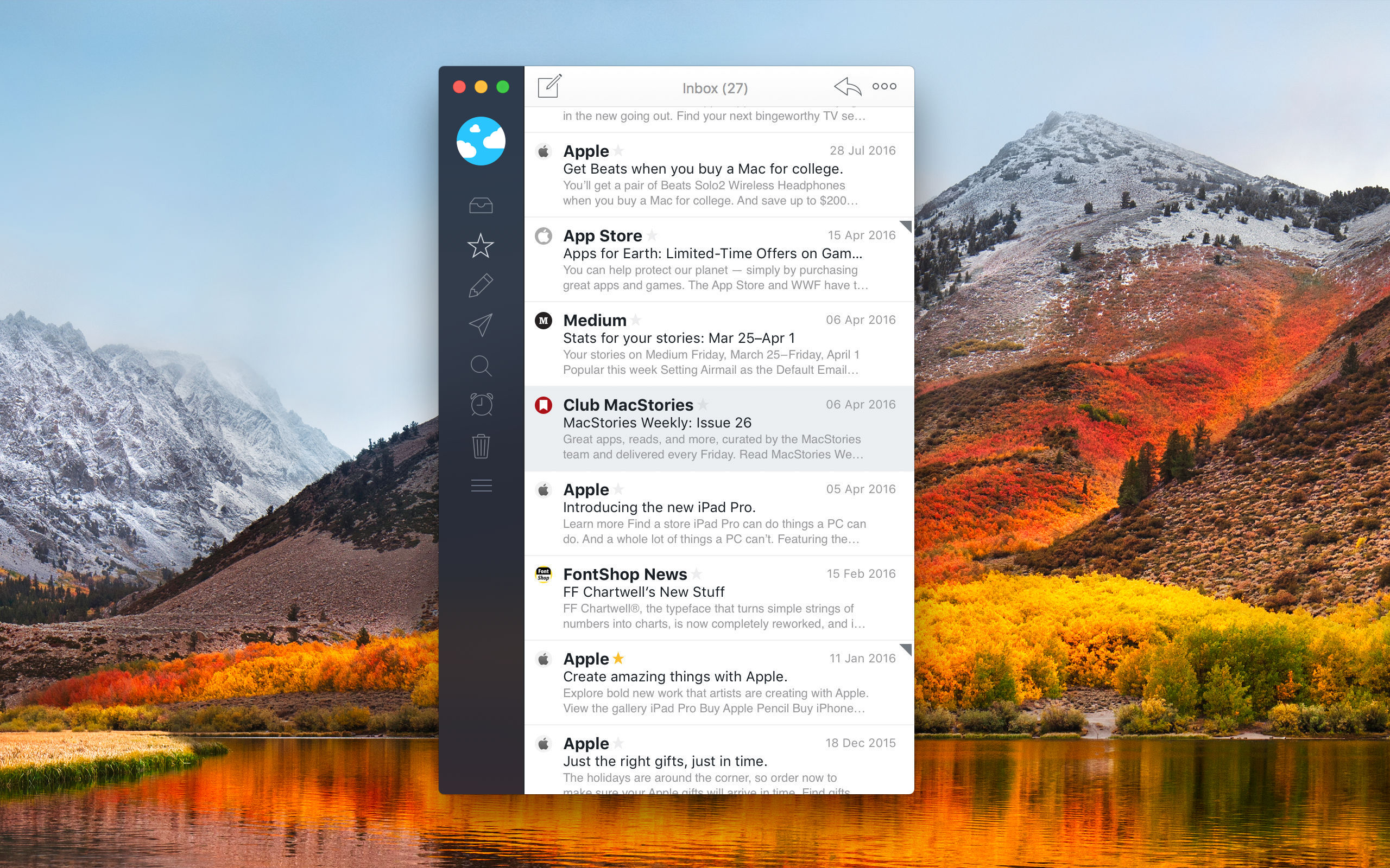 Airmail: An Elegant, Customizable Email Client for Mac and iOS [Sponsor]