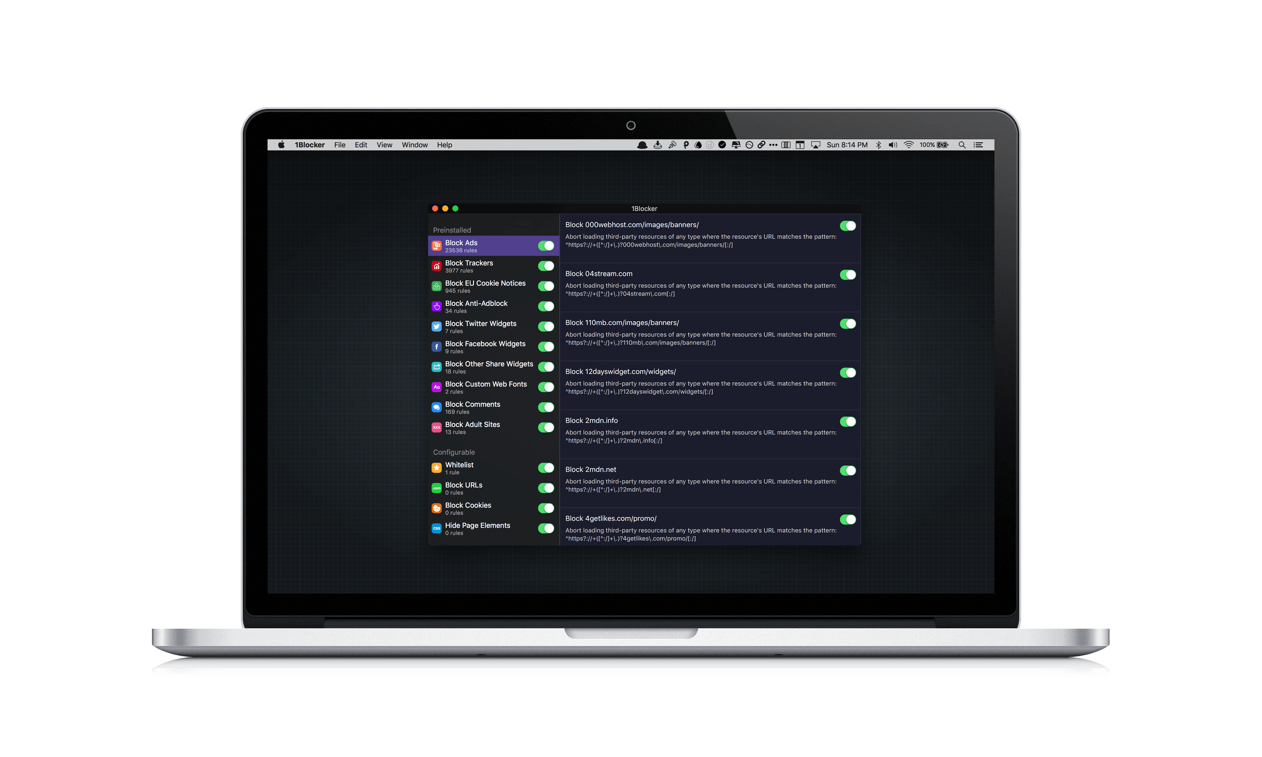 1Blocker Brings Content Blocking with iCloud Sync to the Mac MacStories