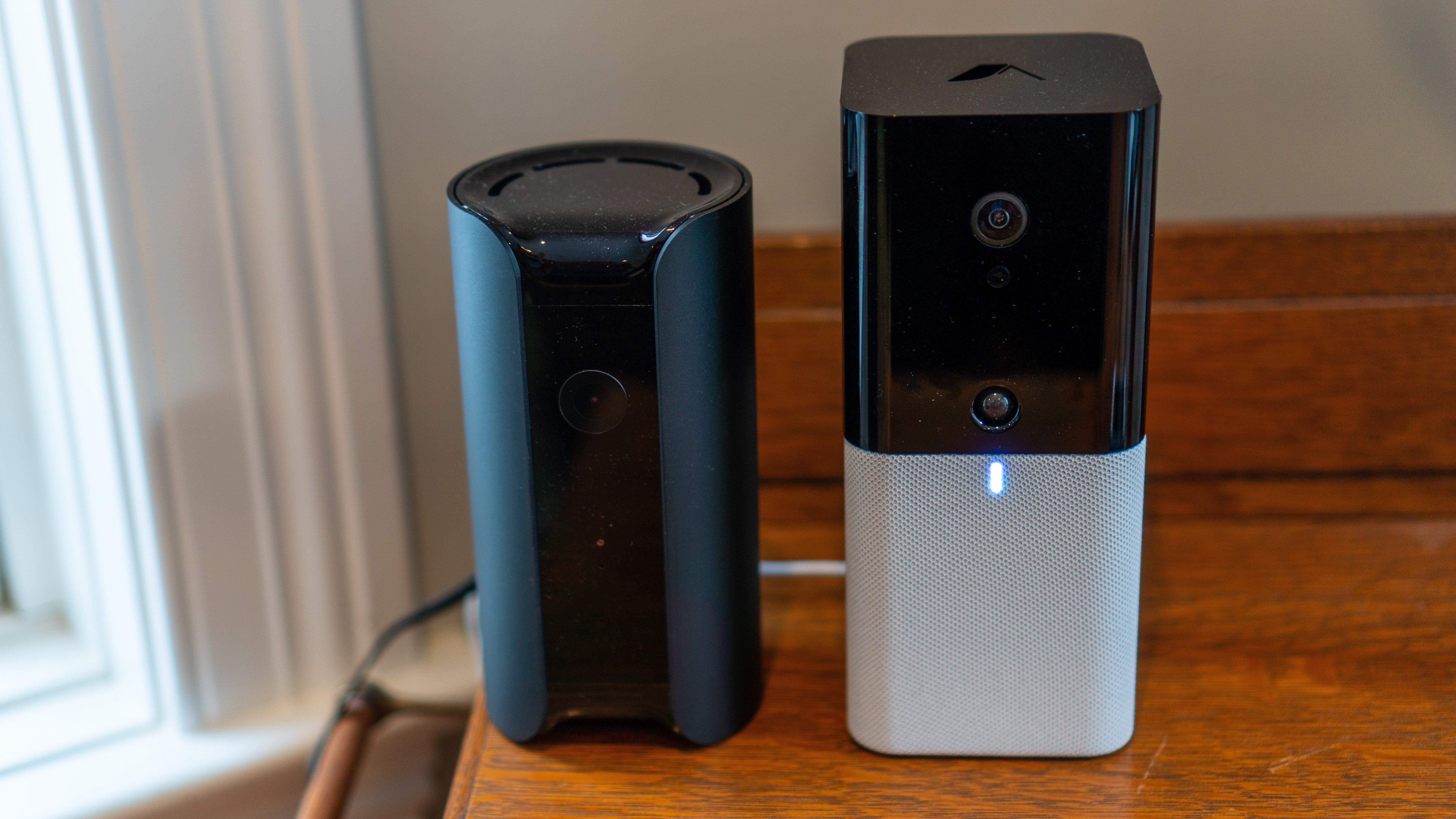 The iota hub is just a little taller than a Canary Pro or View unit.