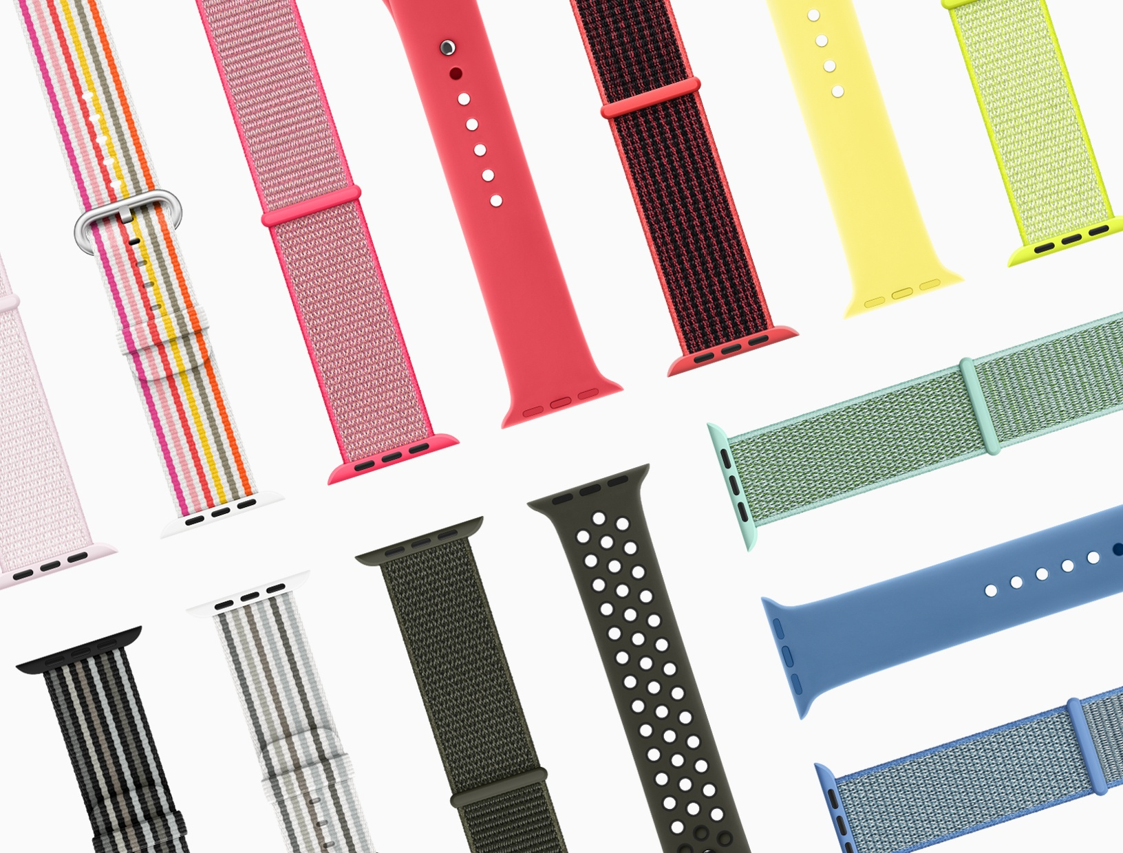 Apple Watch bands from new Spring Collection are all about color