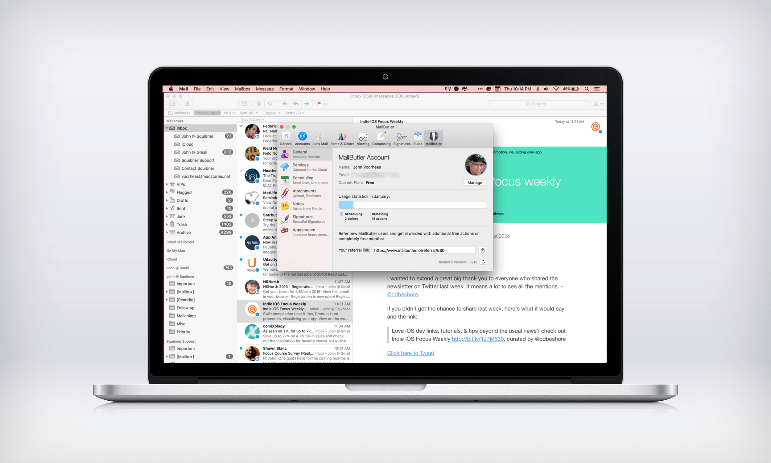 Mailbutler adds new tools to apple mail macstories mailbutler adds new tools to apple mail m4hsunfo