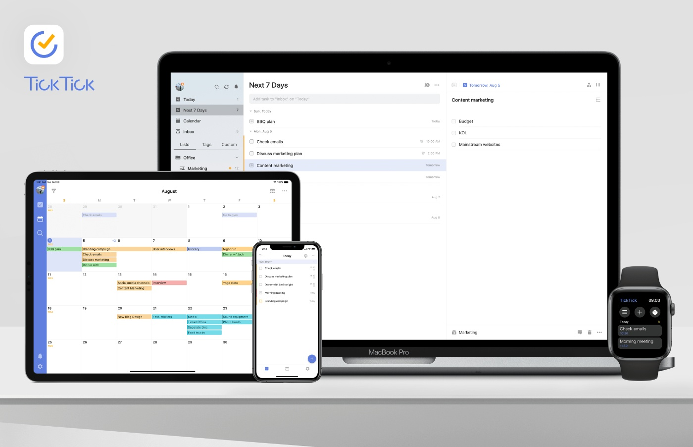 TickTick: Your Lightweight All-In-One Task Manager [Sponsor]