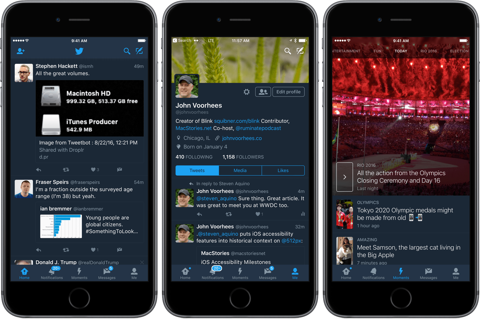 Twitter brings Night mode to iOS users