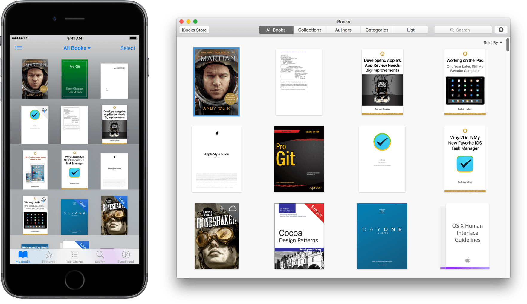sync ibooks pdf between devices