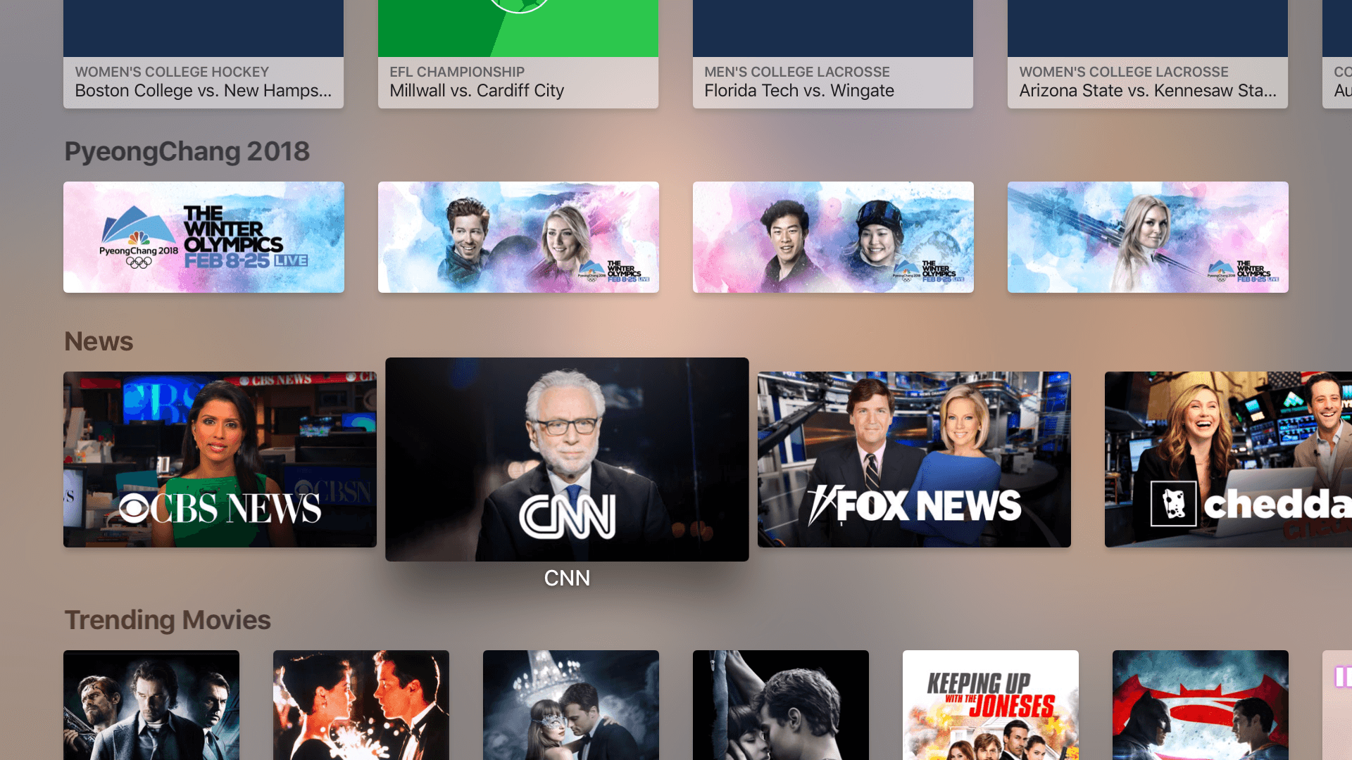 Now you can watch new 'live news' channels