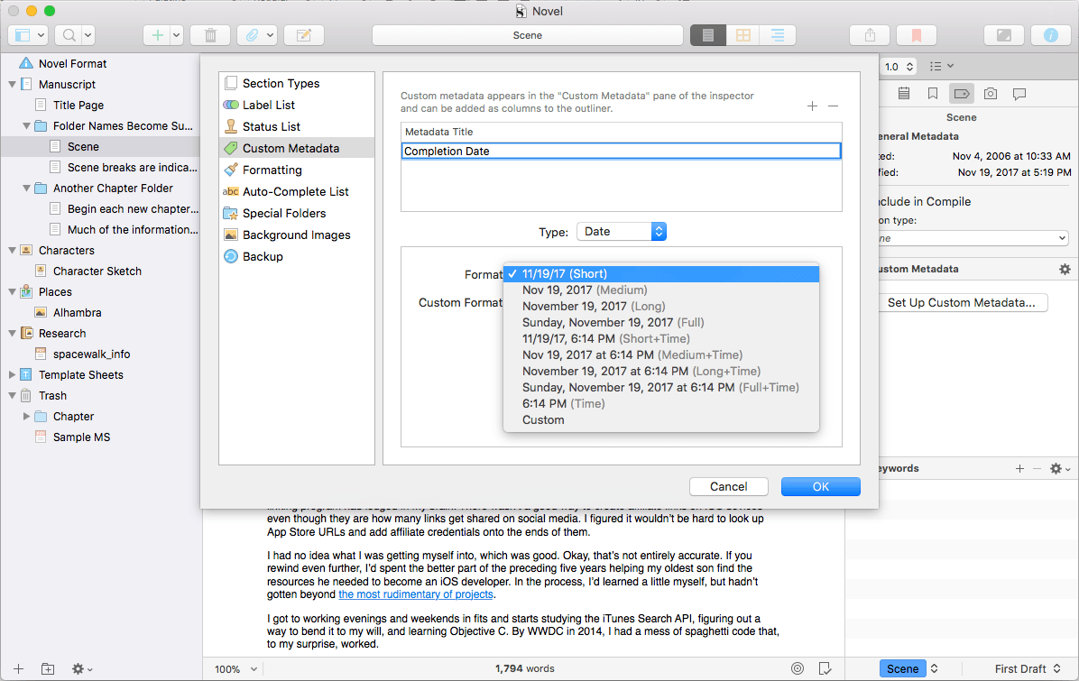 Scrivener 3 for macOS Is More Flexible and Powerful Than