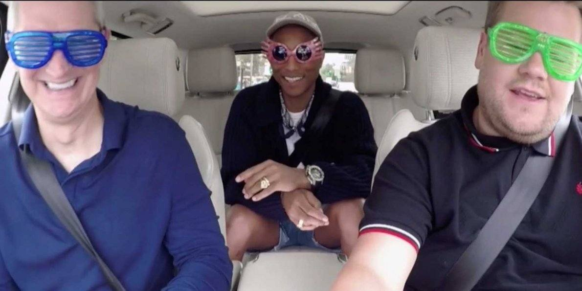 photo image More Details Revealed About Apple Music's Carpool Karaoke