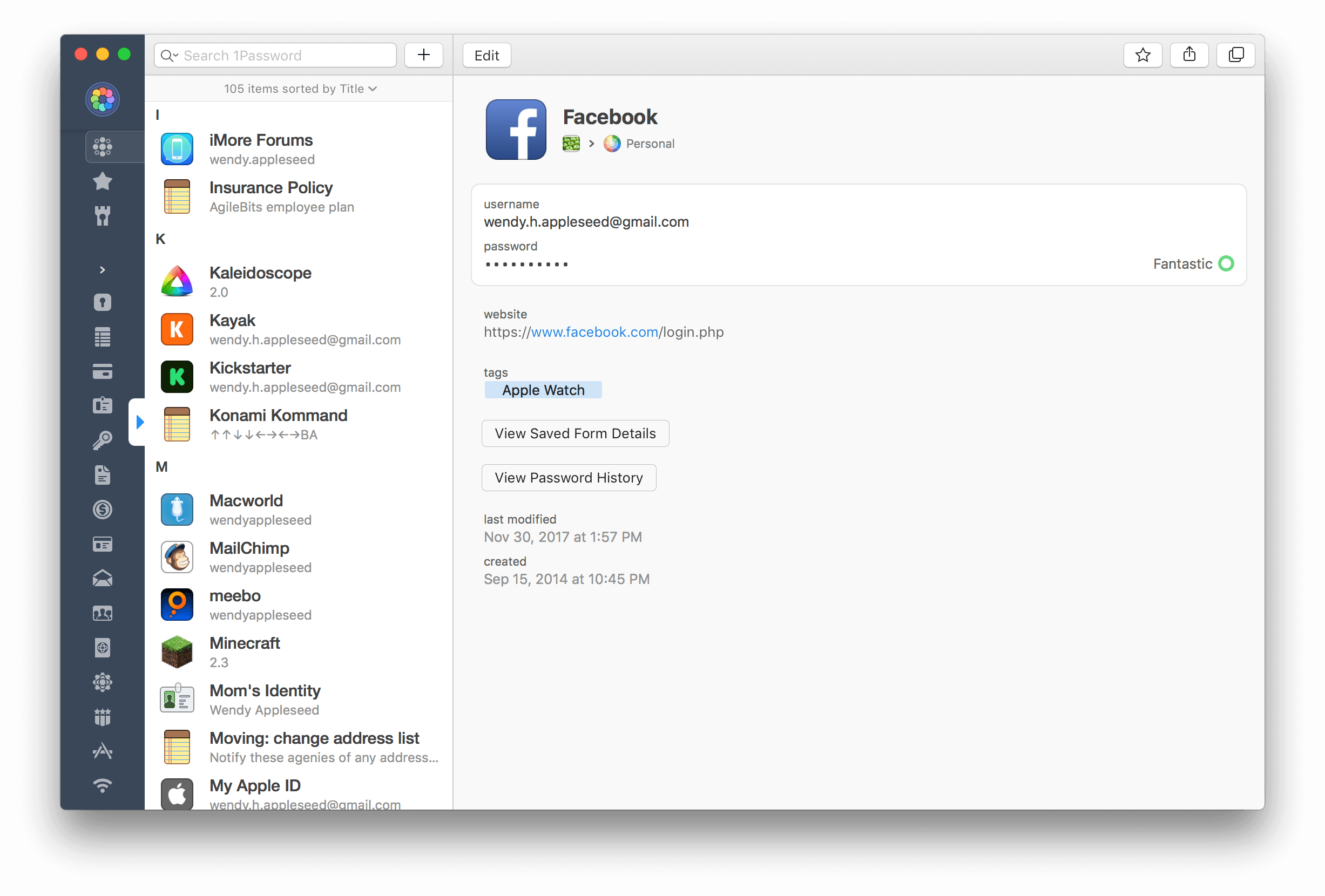 A Redesigned 1Password 7 for Mac Enhances Watchtower and