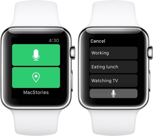 The Apple Watch app is high-quality and, unlike others, actually useful.