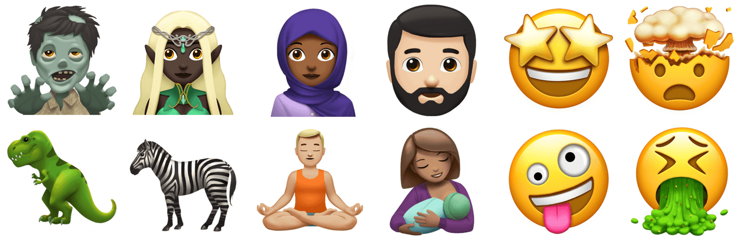 photo image Apple Previews Emoji Coming to iOS 11, macOS High Sierra, and watchOS