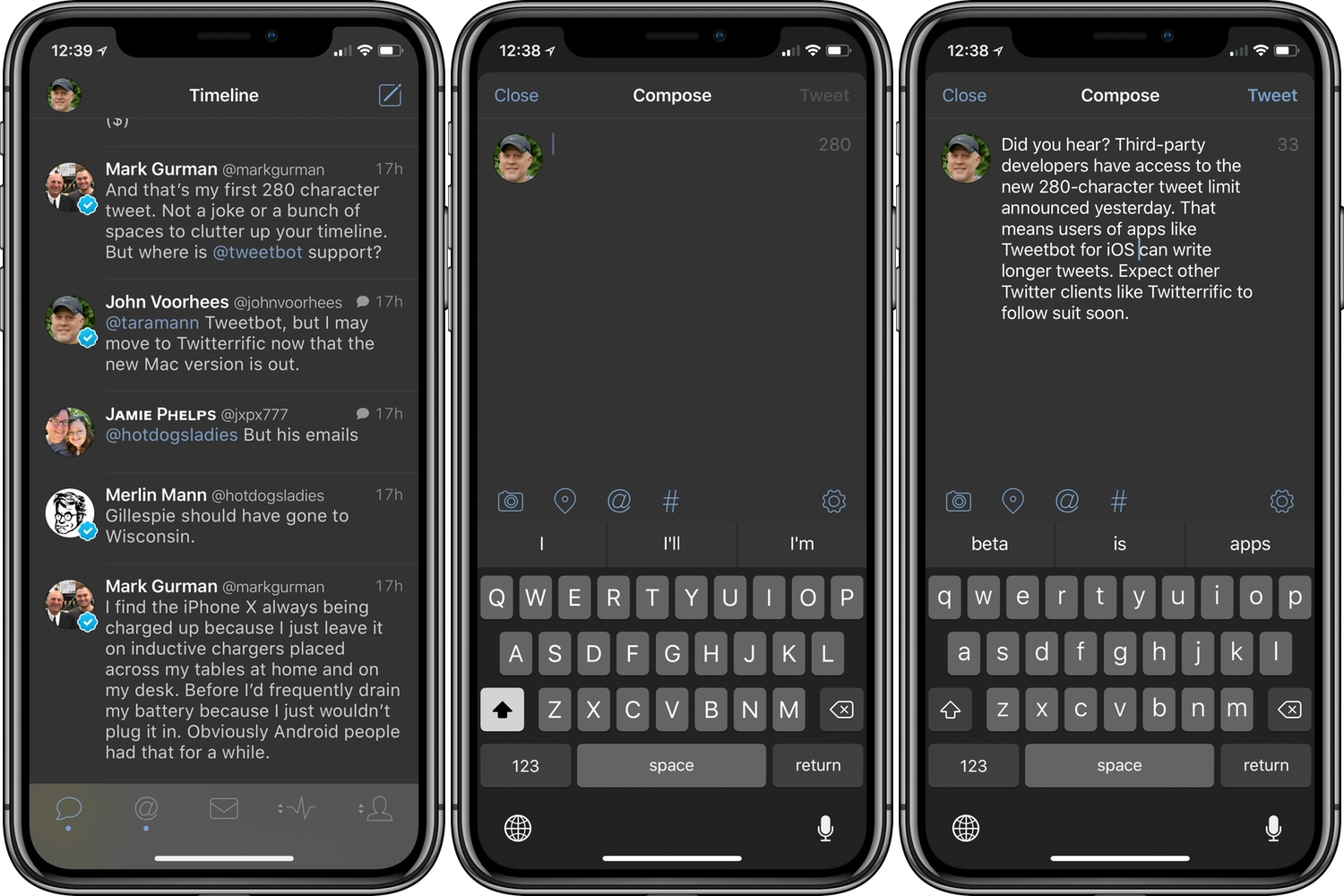 photo image Tweetbot for iOS Adds 280-Character Tweet Support