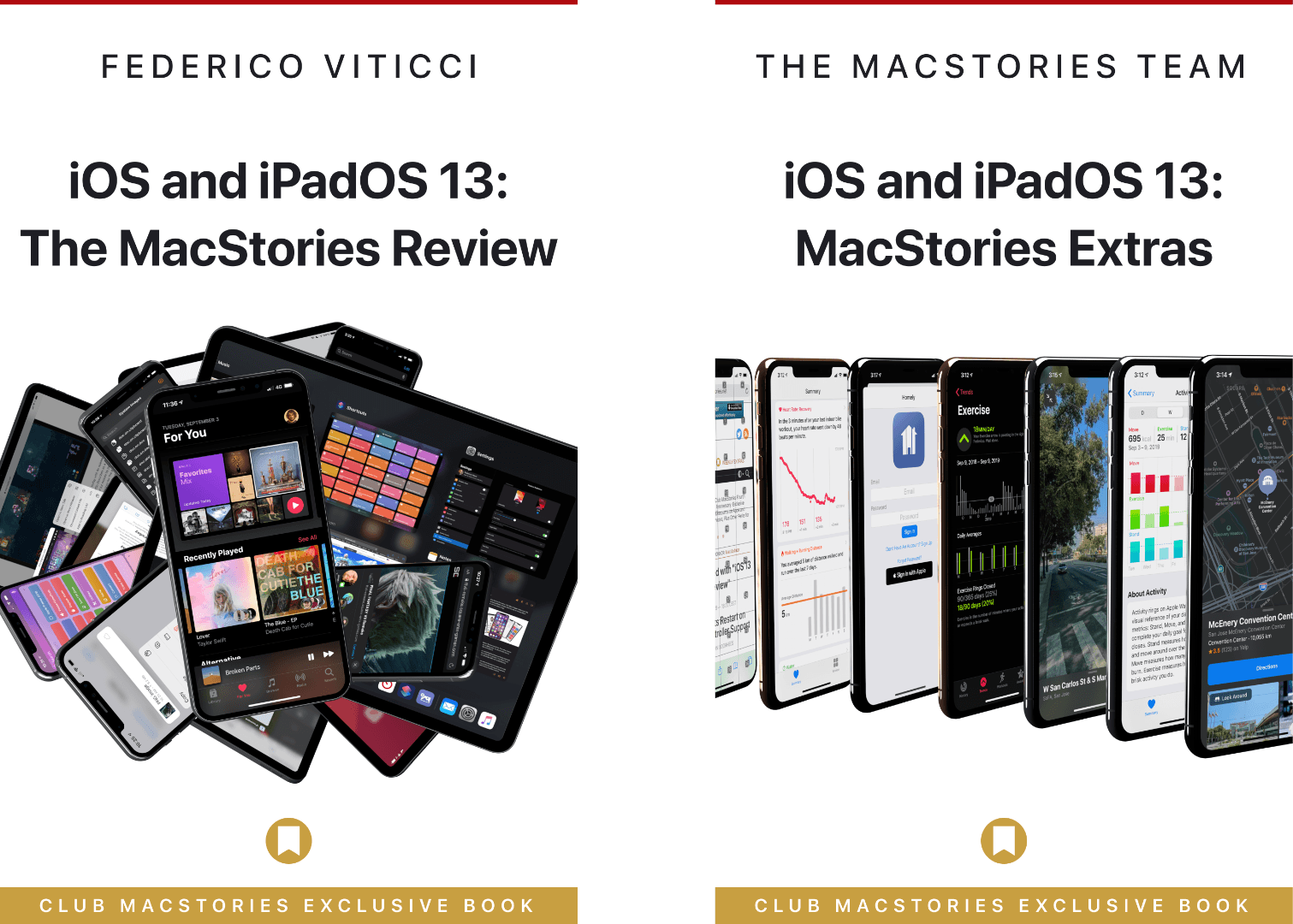 iOS and iPadOS 13 Review Extras: eBooks, Wallpapers, Shortcuts, Podcasts, and Making Of