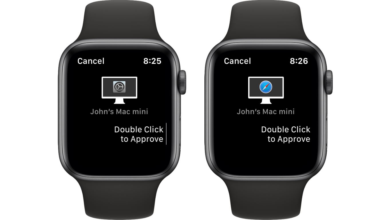 The Apple Watch can authorize more password-protected actions in Catalina.